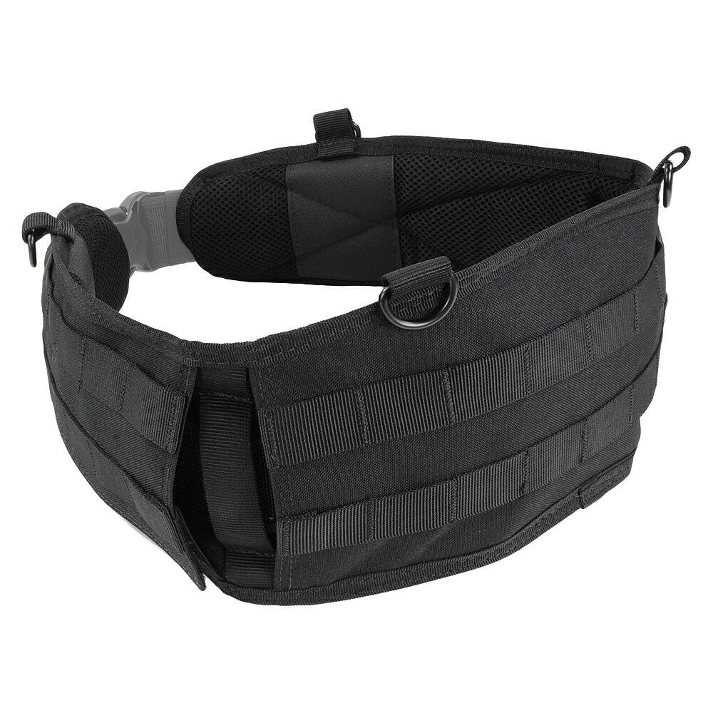 CONDOR ベルトパッド バトルベルト [ ブラック / Sサイズ ] 241-001-S ベルトカバー サバゲー装備