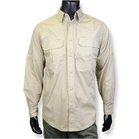 5.11タクティカル 長袖シャツ 72175 カーキ [ Sサイズ ] 511 ワークシャツ 作業着 タクティカルシャツ ポケット付き 軍服 戦闘服 BDU