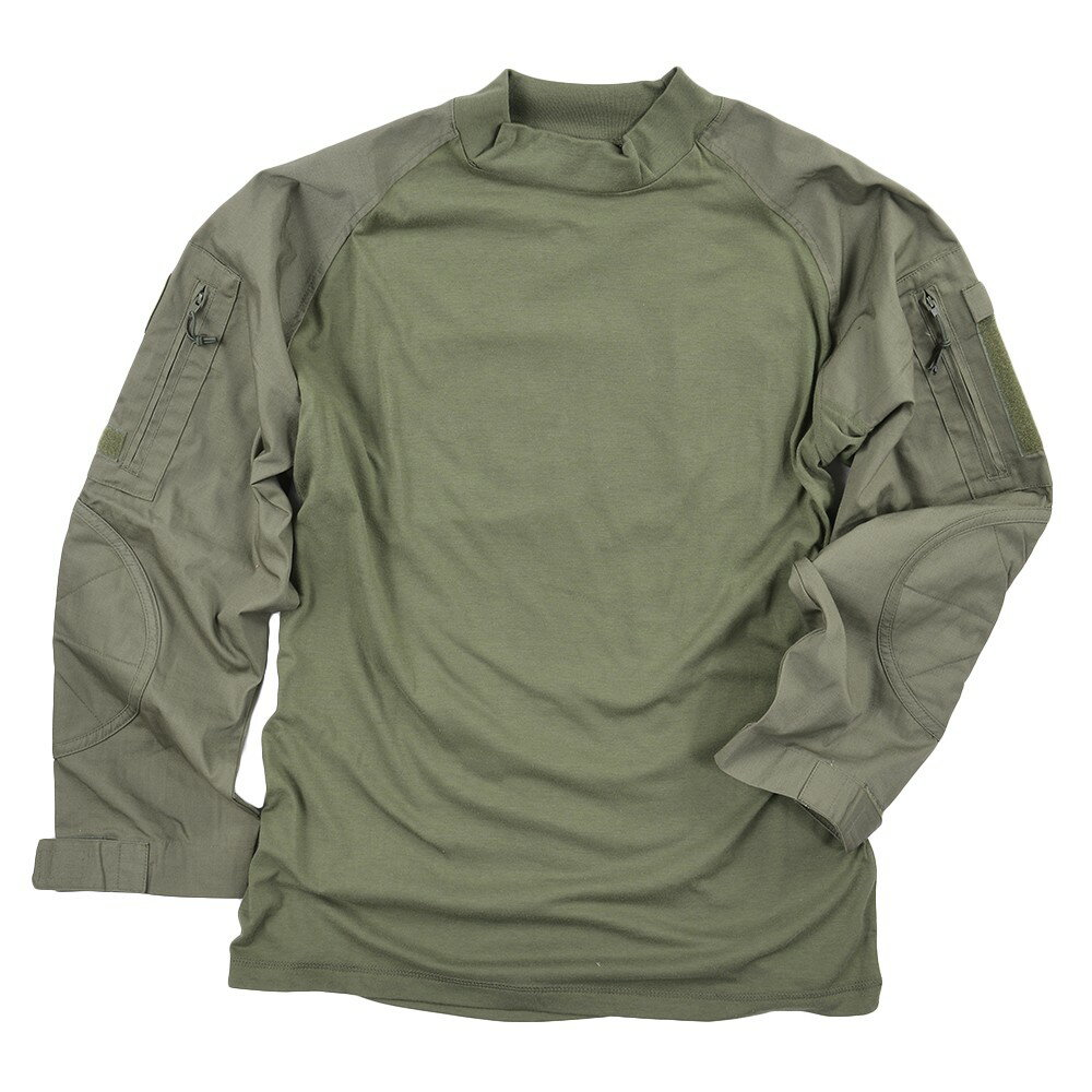 Rothco コンバットシャツ 90015 オリーブドラブ [ Lサイズ ] ミリタリーシャツ 長袖シャツ ロングTシャツ アーミーシャツ アサルトシャツ TDUシャツ