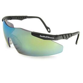 S&W シューティンググラス マグナム ゴールドミラー | スミス&ウエッソン スミス&ウェッソン サングラス メンズ 紫外線カット UVカット グラサン クレー射撃 保護眼鏡 保護メガネ 曇り止め