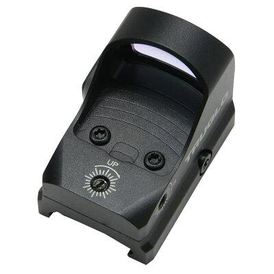 TRUGLOドットサイトTRU-TEC照準器3MOAREDレティクルピカティニーマウントトルグロRMRモデルマイクロドットサイトダットサイト光学照準器オプティカルサイトオープンドット