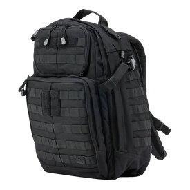 5.11タクティカル ラッシュ24 バックパック 58601 [ ブラック ] 5.11Tactical ダークアース RUSH24   511 リュックサック ナップザック デイパック カバン かばん 鞄 ミリタリー ミリタリーグッズ サバゲー装備