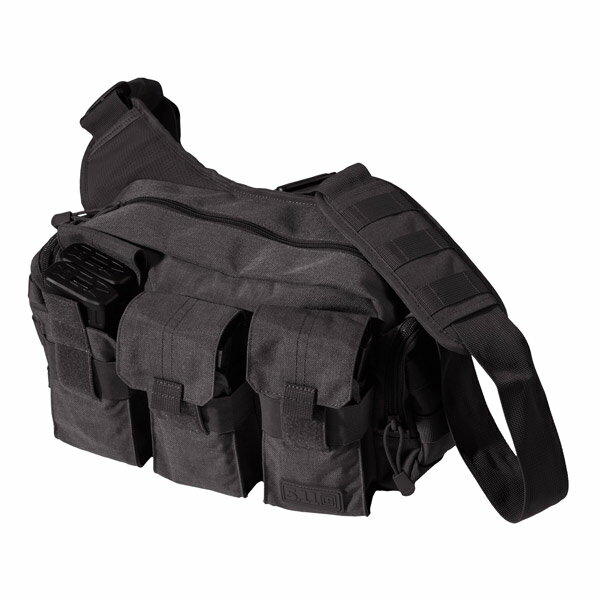 5.11タクティカル ベイルアウトバッグ 56026 ショルダーバッグ [ ブラック ] | 511Tactical ショルダーバック メッセンジャーバッグ かばん カジュアルバッグ カバン 鞄 ミリタリー 帆布 斜めがけバッグ