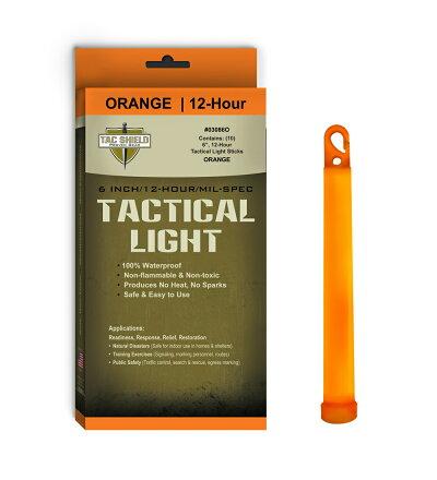サイリウムライトスティック10本入り[オレンジ]ケミカルライトサイリュームルミカルミカライトcyalumetacshield
