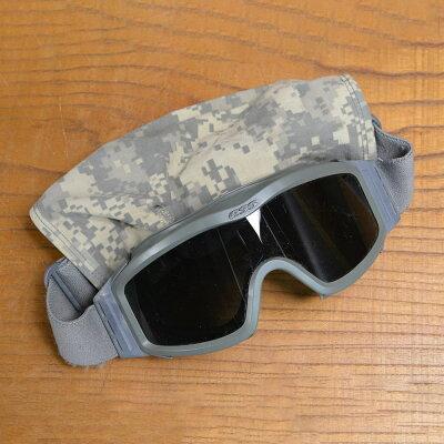 米軍放出品ESSタクティカルゴーグルプロファイルNVGブラックレンズアメリカ軍セーフティゴーグルアイウェアUCP迷彩軍物軍払い下げ品ナイトビジョン