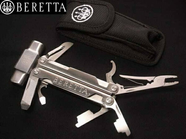 Beretta マルチツール 75565 ショットガンハンマー | ペンチ 携帯工具 マルチツールナイフ 十徳ナイフ 十得ナイフ 万能ナイフ サバイバルツール