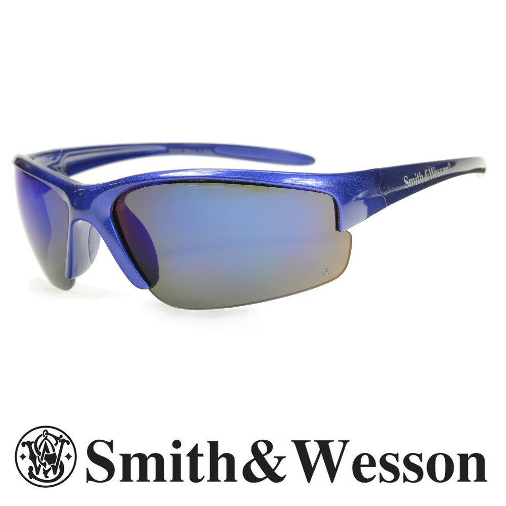 スミス&ウエッソン サングラス イコライザー ブルーミラー S&W | スミス&ウェッソン メンズ スポーツ 紫外線カット UVカット グラサン 運転 ドライブ バイク ツーリング 曇り止め