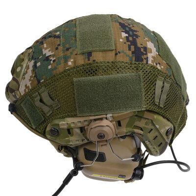 ヘルメットカバーFASTマリタイムタイプヘルメット対応[ウッドランドデジタル]米軍FASTヘルメットタイプMARITIMEタイプ迷彩カモアクセサリー装備品サバゲーミリタリー