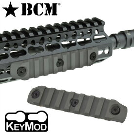 BCM マウントレイル 実物 KeyMod 20mm対応 ナイロン [ フォリアージュグリーン / 4インチ ] BRAVO COMPANY MFG キーモッド nylon ナイロンレイルレイルマウント 3インチ 5インチ レールアクセサリー トイガンパーツ サバゲー用品