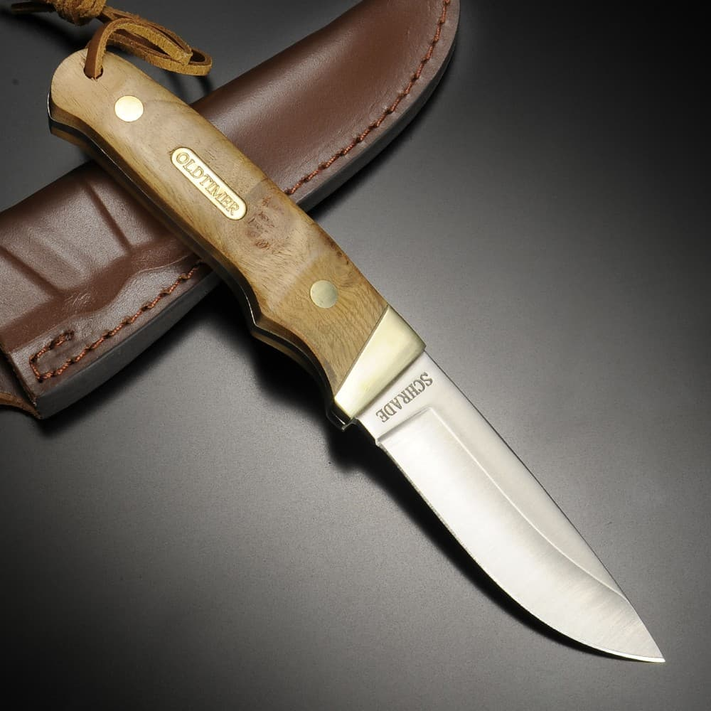 SCHRADE アウトドアナイフ PHW プロハンター | Schrade ハンティングナイフ スキナー 狩猟 解体用 スキニングナイフ サバイバルナイフ シースナイフ