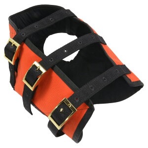 HHD 防牙ベスト 猟犬用 BAY VEST 狩猟 ケブラー3層構造 [ XLサイズ ] ドッグウエア BayVEST ベイベスト ハンティング オレンジ 安全ベスト
