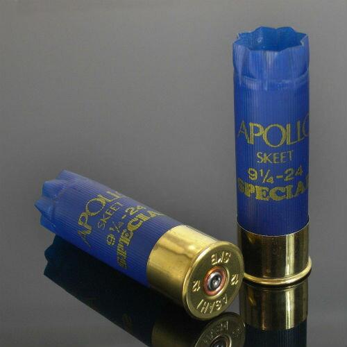 アサヒ APOLLO 空薬きょう 12ゲージ スキート [ 2個セット ] ショットガン Y-ABL3-2 | やっきょう ライフルカートリッジ ショットシェル 散弾