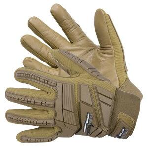 COLD STEEL タクティカルグローブ ゴートスキンレザー [ コヨーテタン / Mサイズ ] コールドスチール Tacrical Gloves ヤギ革 TPR HPPE 革手袋 レザーグローブ 皮製 皮手袋 ハンティンググローブ ミリタ