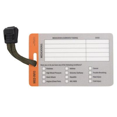 救急カード医療情報メディカルID緊急連絡先3パックMedicalCard医療用品IDカード救命救急用品