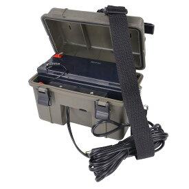 STEALTH CAM トレイルカメラ専用 12Vバッテリー 長時間撮影可 ステルスキャム ステルスカム バッテリーボックス トレイルカメラ用 充電器