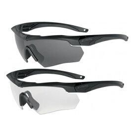 ESS サングラス クロスボウ 2X クロスボー Crossbow メンズ スポーツ 紫外線カット UVカット グラサン 運転 ドライブ バイク ツーリング 曇り止め シューティンググラス 射撃用サングラス 射撃用メガネ 保護メガネ セーフティーグラス