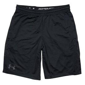 UNDER ARMOUR ハーフパンツ UA MK-1 Shorts [ ブラック / Mサイズ ] アンダーアーマー ショーツ メンズ ショートパンツ 半ズボン 半ずぼん ランニング アウトドア スポーツウェア ウォーキング