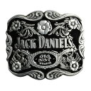ベルトバックル JACK DANIELS ボトルデザイン Old No.7 ジャックダニエル ウイスキー ナンバーセブン 花 ベルト用バッ…