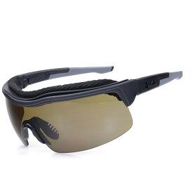 UVEX サングラス エクストリームプロ グレー | ウベックス メンズ スポーツ 紫外線カット UVカット グラサン 運転 ドライブ バイク ツーリング 曇り止め セーフティゴーグル アイウエア 安全ゴーグル