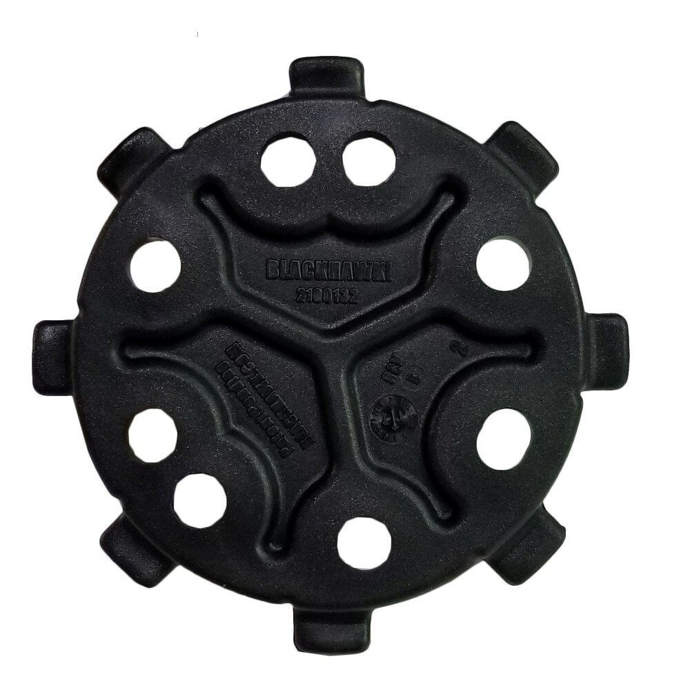 ブラックホーク ホルスターパーツ クイック ディスコネクト システム [ 430951(オスx1) / ブラック ] メイルアダプター 430951BK   Blackhawk BHI サバゲー装備 ミリタリーグッズ サバイバルゲーム