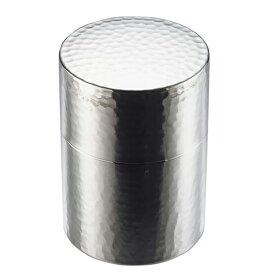 工房アイザワ 茶筒 ブラックピーマン ステンレス ティーキャニスター ティーキャディー 保存容器 保存缶 ストッカー