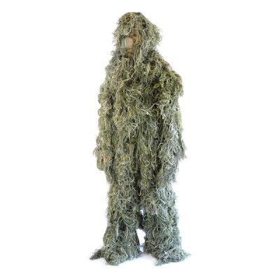 ゴーストギリースーツ迷彩服上下セットウッドランドカモカモフラージュ偽装