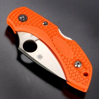 Spyderco折りたたみナイフドラゴンフライ2ザイテル[オレンジ]スパイダルコ折り畳みナイフフォルダーフォールディングナイフホールディングナイフ