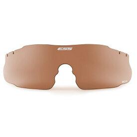 ESS ICE サングラス 交換レンズ [ ローズカッパー ] シューティンググラス | 3LS アイス3 アイシールドメンズ 紫外線カット UVカット グラサン クレー射撃 保護眼鏡 保護メガネ 曇り止め 替えレンズ 予備レンズ 代えレンズ