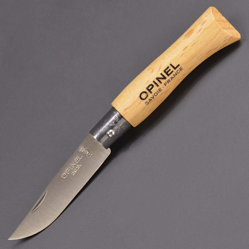 OPINEL 折りたたみナイフ No4 ステンレス鋼 オピネル 折り畳みナイフ フォルダー フォールディングナイフ ホールディングナイフ