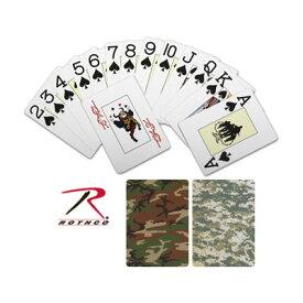 Rothco トランプ カモフラージュ柄 [ ウッドランドカモ ] カードゲーム プレイングカード