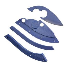 キャップ取付用 ナイフシースキット BILL BLADE [ ネイビーブルー ] ナイフセルフインストールキット ベースボールキャップ用 野球帽用 アウトドアキャップ用