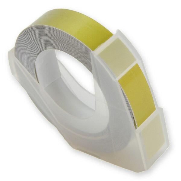エンボステープ DYMO用 9mmx3m ダイモ [ ゴールド ] RM900GD リフィルテープ レイチェル