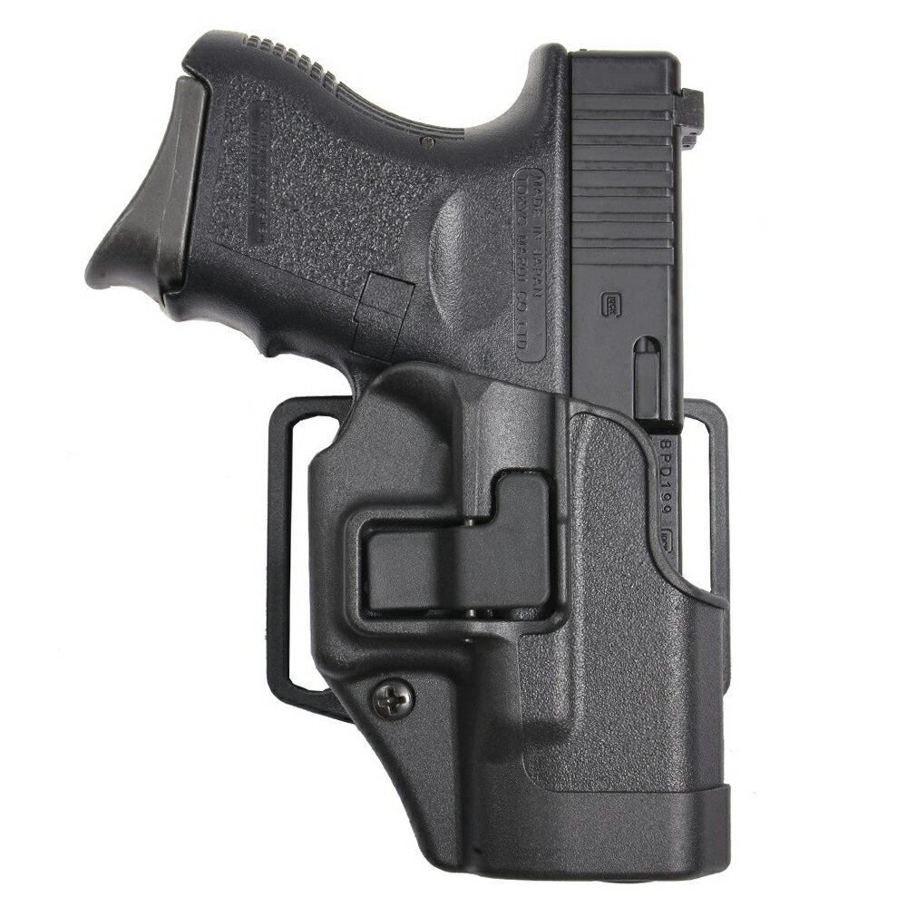 ブラックホーク CQCホルスター SERPA マルイ グロック26適合 [ 右利き ] Glock 262733 410501BK-R   Serpa シェルパ Blackhawk BHI