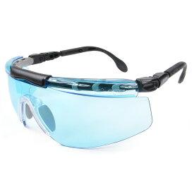 UVEX サングラス フィットロジック ブルー ウベックス FITLOGIC セーフティグラス シューティンググラス UVカット 紫外線