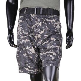 Rothco ハーフカーゴパンツ BDUショーツ 迷彩 [ アーバンデジタル / Sサイズ ] ミリタリーパンツ TDUパンツ BDUパンツ メンズボトム