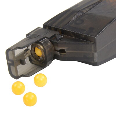 BBローダー200発ガスマガジン用アダプター付BB弾ソフトエアーガンソフトエアガン電動エアガンガスガンサバゲーミリタリー