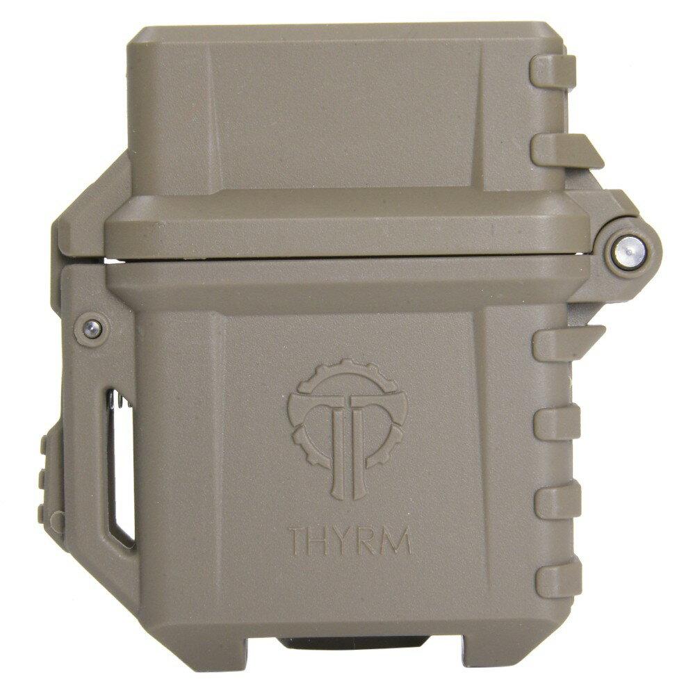 THYRM ZIPPOケース PyroVault Lighter Armor 防水 [ フラットダークアース ] サイリム ピロボールト ライター アーマー ジッポー ライターケース 小物入れ 保存ケース 保存容器 サバイバルケース 薬ケース 入れ物