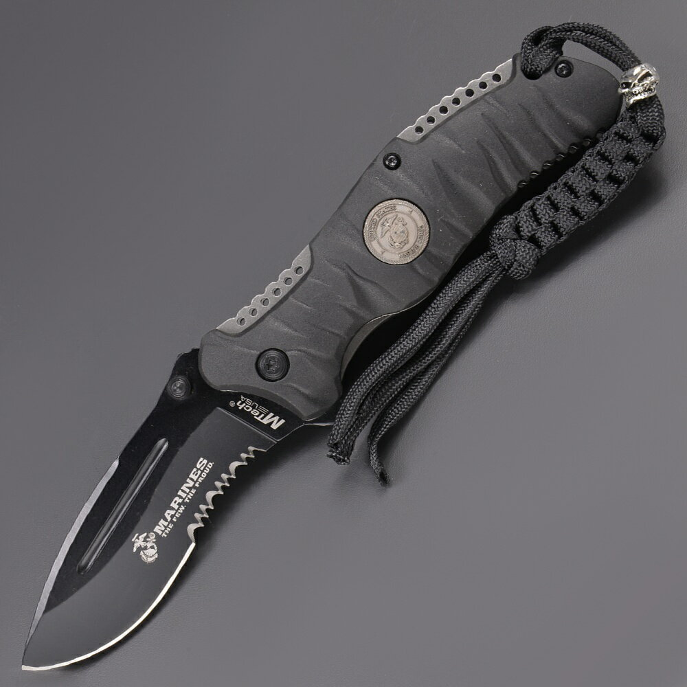 Mテック 折りたたみナイフ Reaper Manual [ ブラック ] ライナーロック エムテック