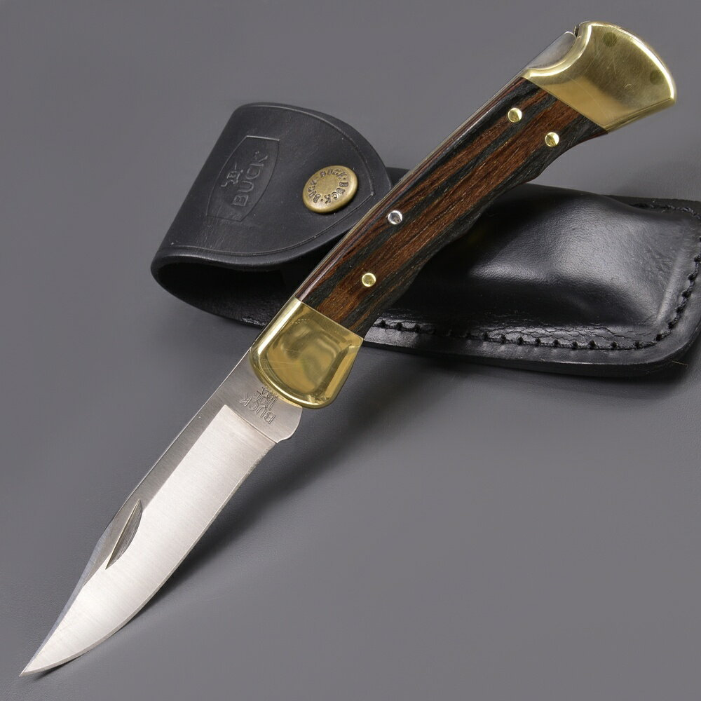 BUCK 折りたたみナイフ 110 フォールディングハンター フィンガーグループ付 折りたたみ110 | バックナイヴズ バック折り畳みフォルダー ホールディング