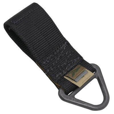 FirstSpearベルトパーツVリングベルクロ対応[ブラック]ファーストスピアランヤードVリングベルトリングベルトループホルダーミリタリーサバゲー装備品