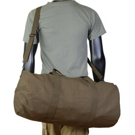 Rothco ボストンバッグ ヘビーウエイトキャンバス [ アースブラウン ] 2234 ドラムバッグ スポーツバッグ