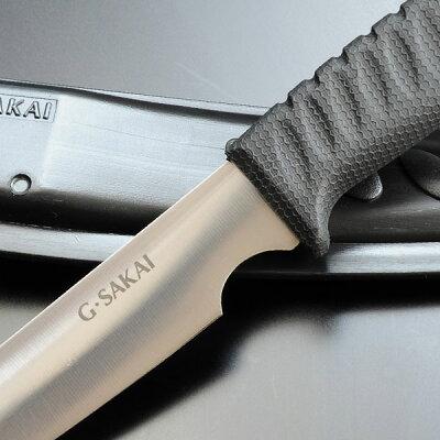 Gサカイクッキングナイフ直刃