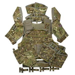 イギリス軍放出品 オスプレイ MK4 ボディアーマーセット MTP迷彩 [ 170/112 / パッチあり ] OSPREY プレートキャリア ミリタリー サバゲー 装備品 プレキャリ プレートキャリアー 防弾プレートキャ
