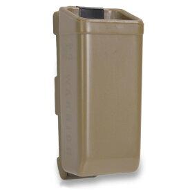 WARRIOR ASSAULT SYSTEMS 実物 ピストルマガジンケース ポリマー 9mm [ ダークアース ] ウォーリアーアサルトシステムズ WAS Polymer Mag W-EO-PSP9 ハンドガン サバゲー サバゲー装備