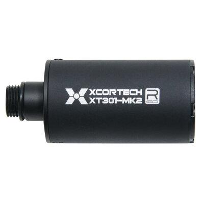 XCORTECHUVトレーサーXT301Mk2ウルトラコンパクトTRACER蓄光BB弾対応ULTRACOMPACT11mm正ネジ14mm逆ネジUSB充電フラッシュハイダーマズルブレーキコンペンセイターエアガンパーツカスタムパーツ