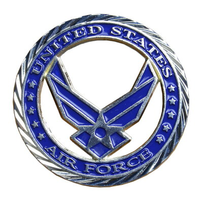 チャレンジコイン米空軍エンブレム記念メダル