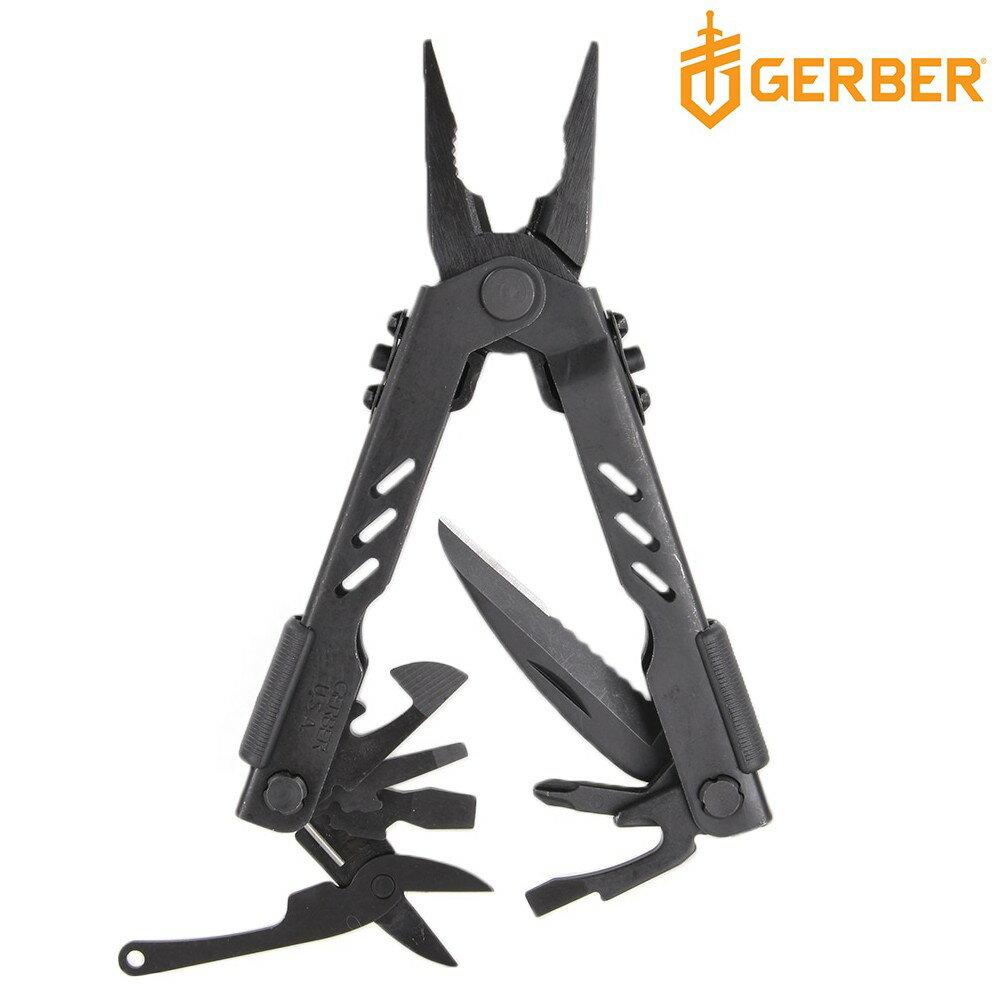 GERBER マルチプライヤー コンパクトスポーツMP400 ブラック ニードルノーズ | ペンチ 携帯工具