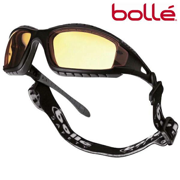 Bolle サングラス トラッカー イエロー ボレーレンズ | メンズ スポーツ 紫外線カット UVカット グラサン 運転 ドライブ バイク ツーリング 曇り止め アンバー 黄色