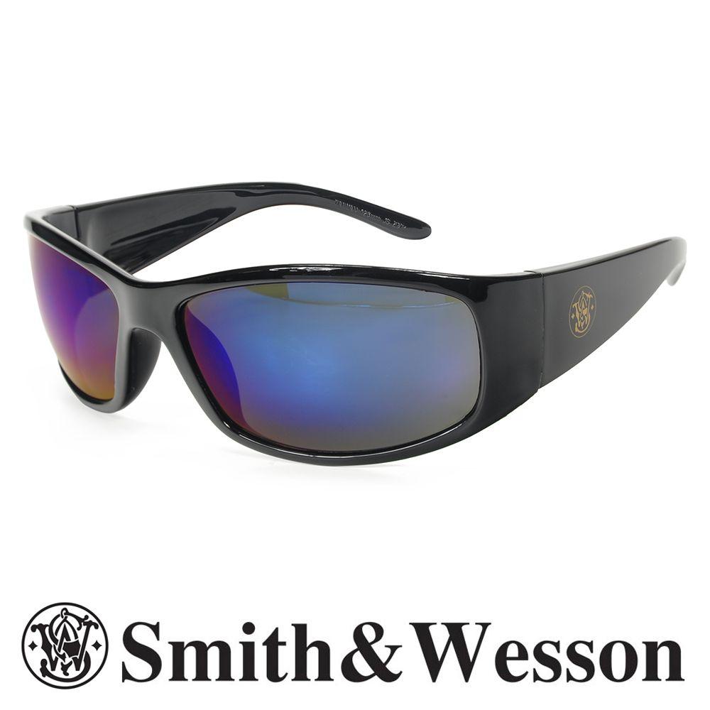 スミス&ウエッソン サングラス エリート ブルーミラー | スミス&ウェッソン S&W メンズ スポーツ 紫外線カット UVカット グラサン 運転 ドライブ バイク ツーリング