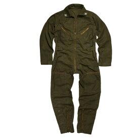 イタリア軍放出品 フライトスーツ 空軍 つなぎ 飛行服 OD 実物 パイロットスーツ ジャンプスーツ カバーオール 装備品 ミリタリー 軍物 軍払い下げ品